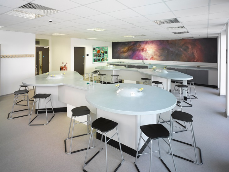 Saturn and Mercury School Science Laboratory Furniture