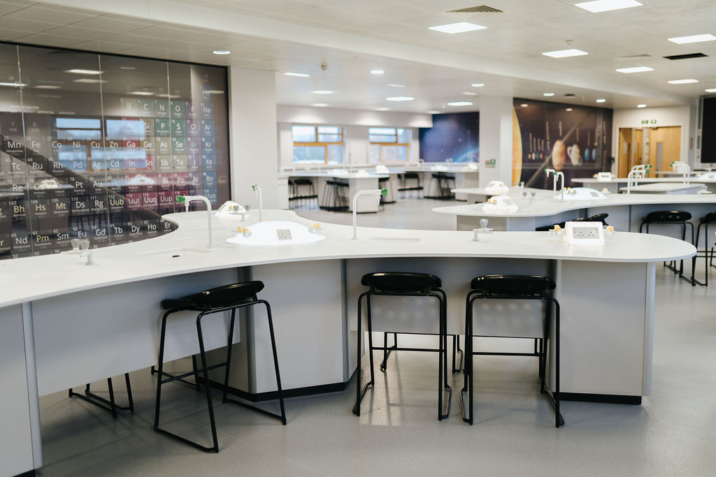 Burnley College Science Lab workstations