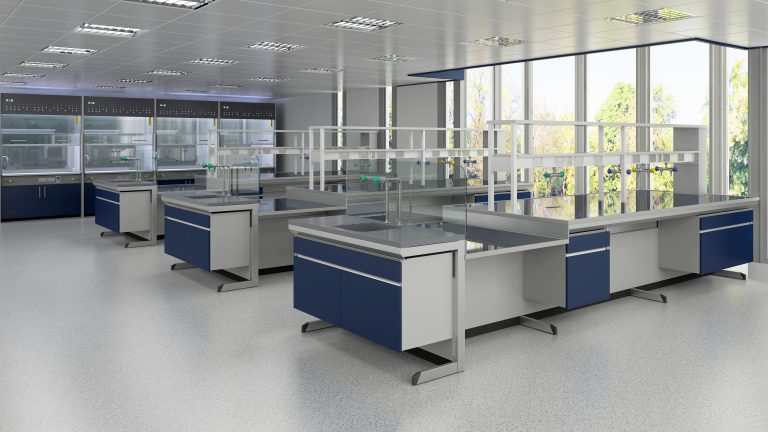 Laboratory furniture by S+B