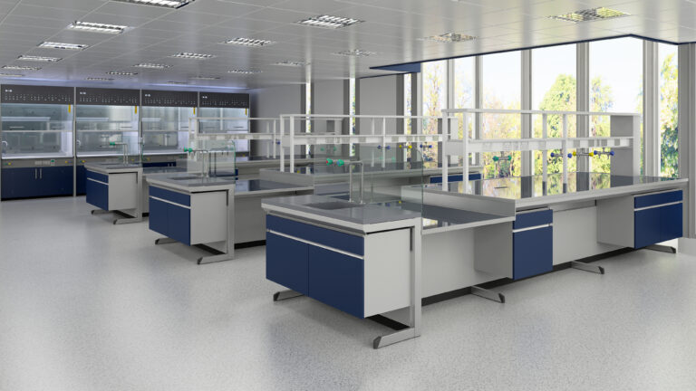 C Frame Laboratory furniture