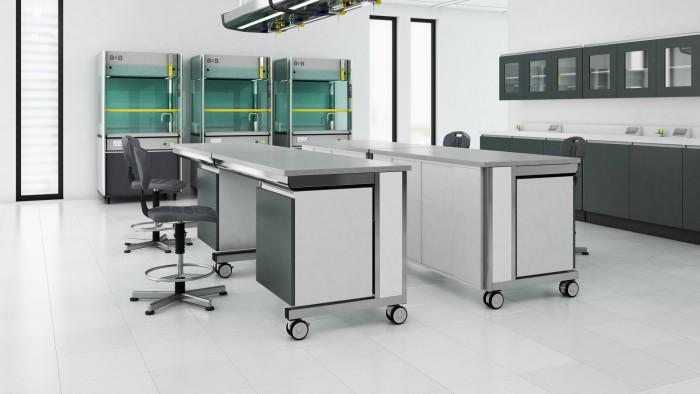 Modular lab benching by S+B
