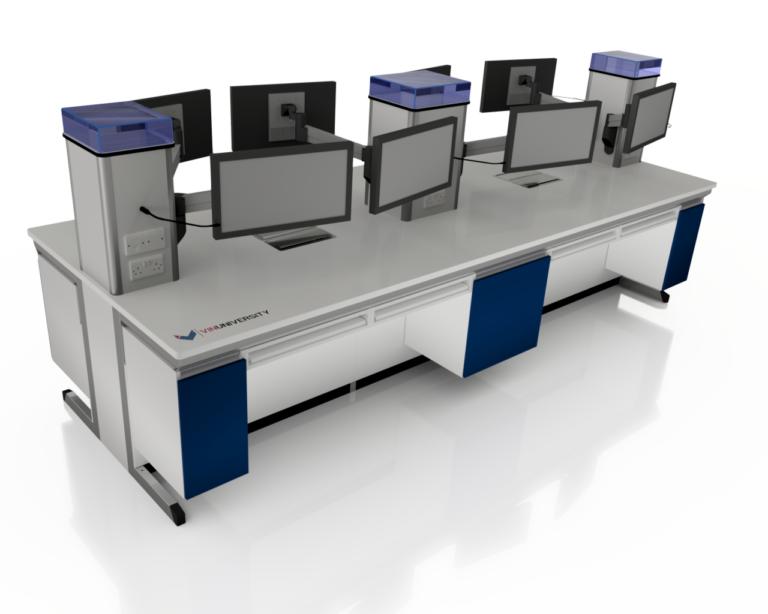 3D Rendering of VIN University Lab - Inventor