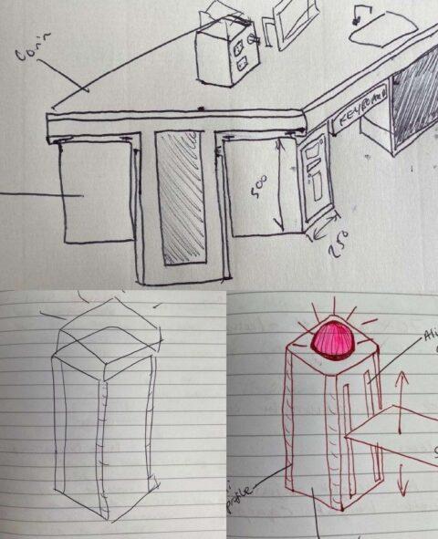 Vin University Lab Sketch